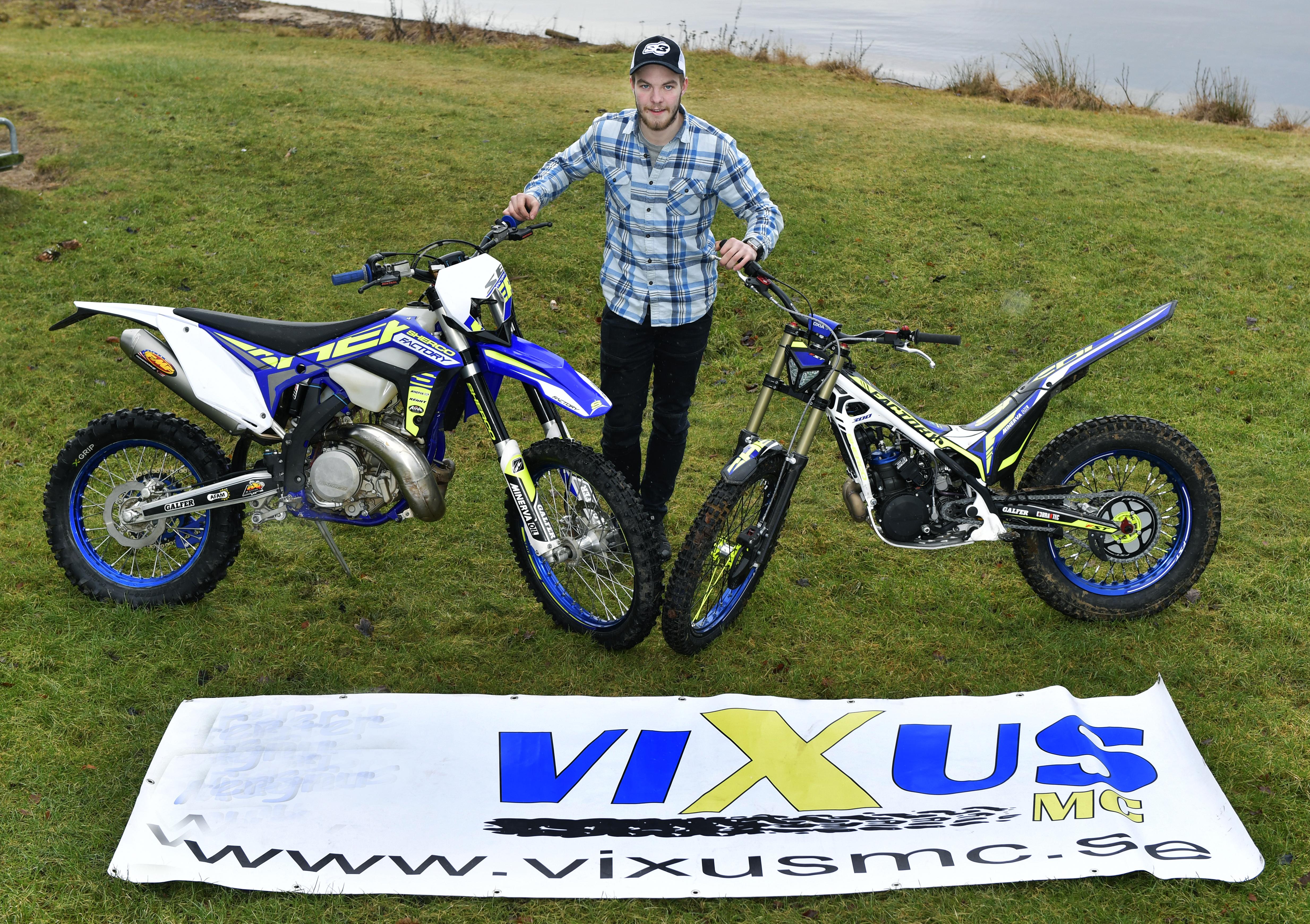 Eddie Karlsson Team Vixus