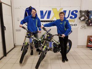 Max och Lucas Mårtensson från Team Vixus